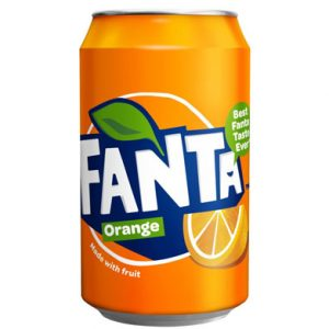Fanta Orange Blikje 330ml