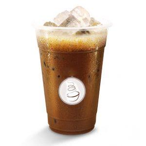 Vietnamese ijskoffie met melk